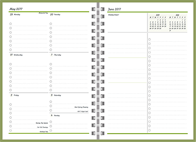 customizable planners build your 2018 19 planner agendio com